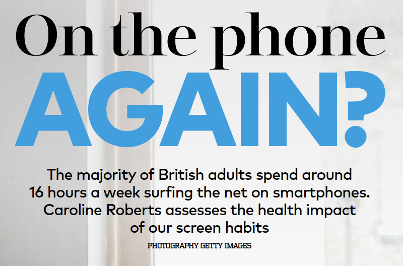 The health impact of screens