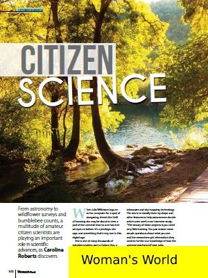 Link to article on citizen science
