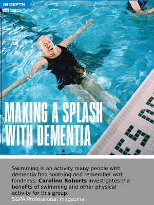 Link to article on how swimming and other forms of exercise can benefit people with dementia