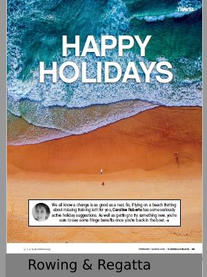 Link to article on physical activity holidays