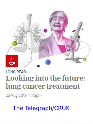 Link to article on CRUK's progress in treating lung cancer