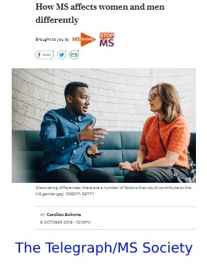 Link to article on how MS affects men and women differently