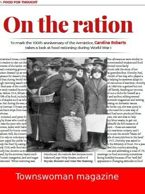 Link to article on rationing in World War 1