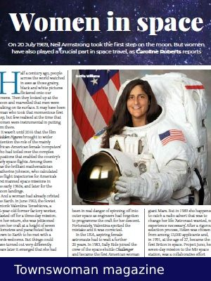 Link to article on the role of women in the space race